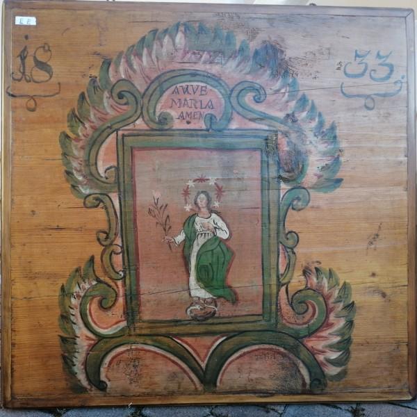 Pannello dipinto cod.  1197